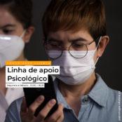 COVID 19 – Linha de apoio psicológico